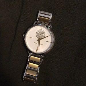 Michael Kors gold silver watch